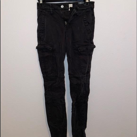 h&m skinny cargo pants